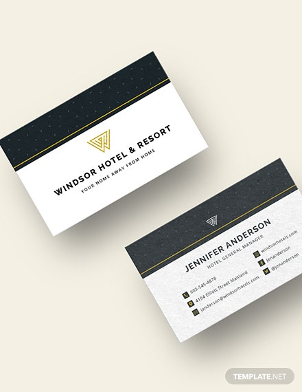 Luxury Business Card Template  - Illustrator, Word, Apple Pages, PSD, Publisher