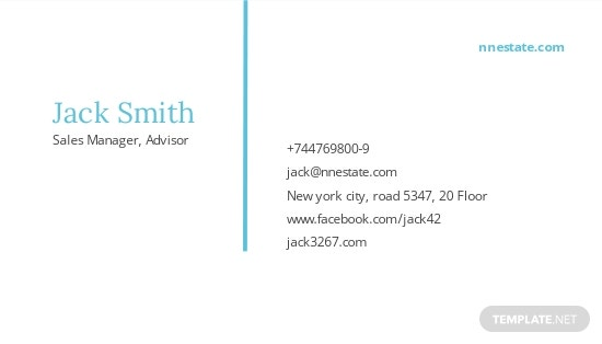 Real Estate Agent Business Card Template 1.jpe