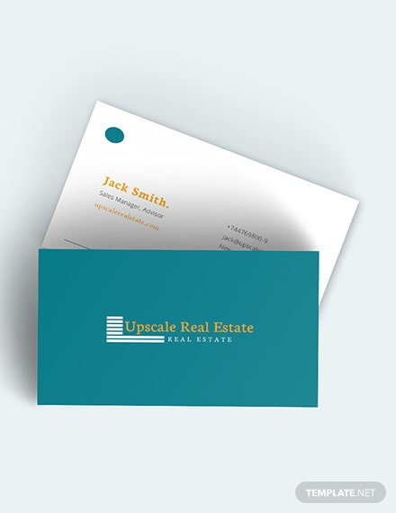 Real Estate Property Business Card Download