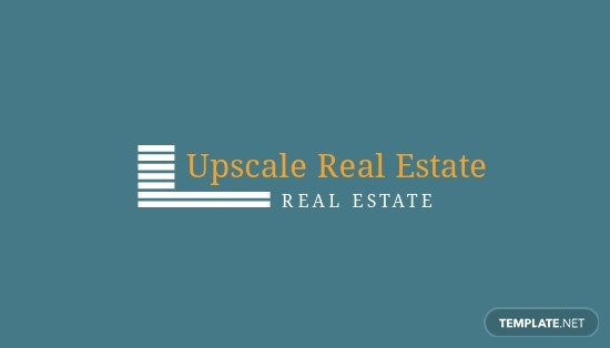 Real Estate Property Business Card Template