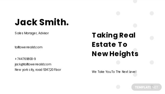 Real Estate Sales Experts Business Card Template 1.jpe
