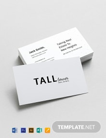 Real Estate Sales Experts Business Card Template