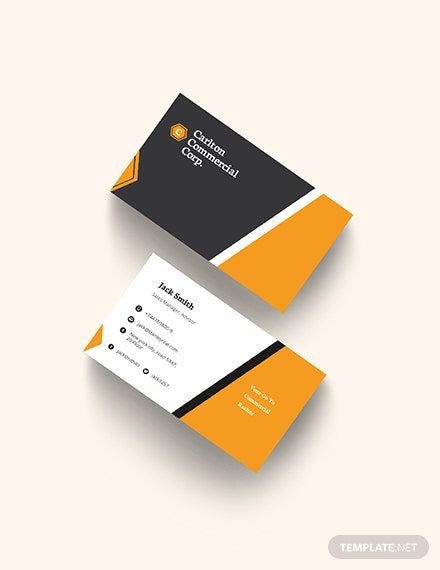 Commercial Real Estate Property Business Card Template