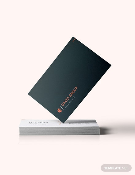 Simple Real Estate Business Card Download