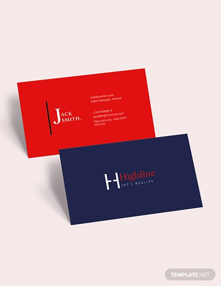 Creative Real Estate Business Card Download