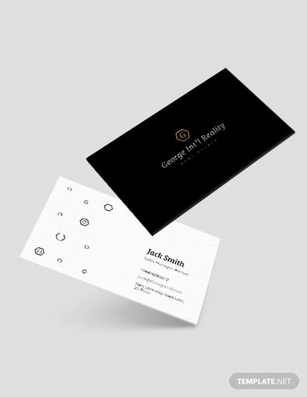Real Estate Property Business Card Template Download 136 Business