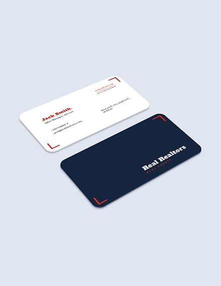 Elegant Realtor Business Card Download