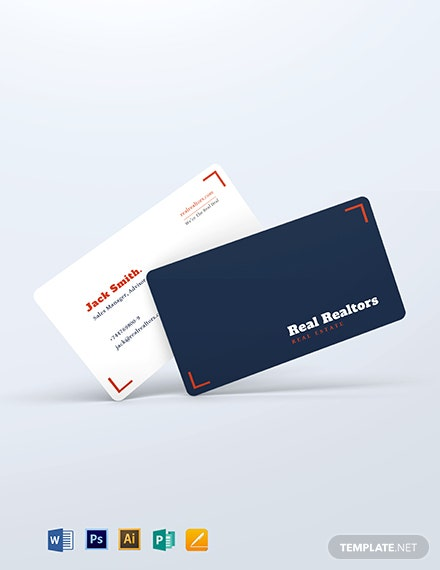 Elegant Realtor Business Card Template