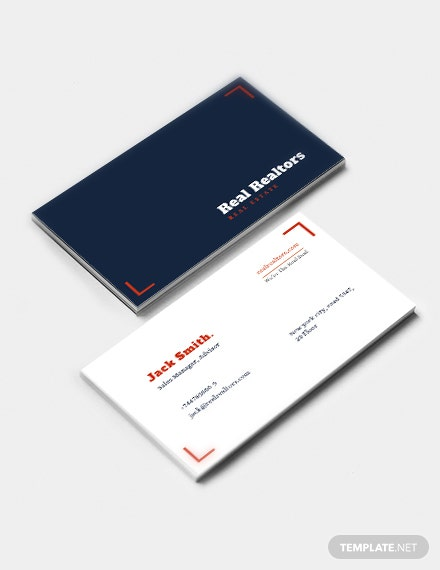 Elegant Realtor Business Card Template