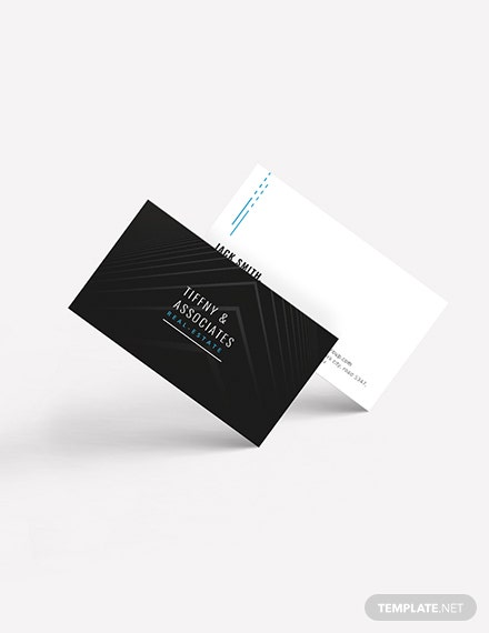 Luxury Real Estate Business Card Download