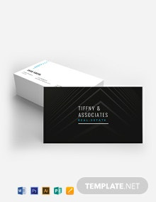 Luxury Real Estate Business Card Template