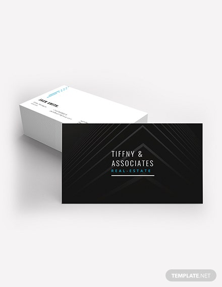 Luxury Real Estate Business Card Template Download 155 Business