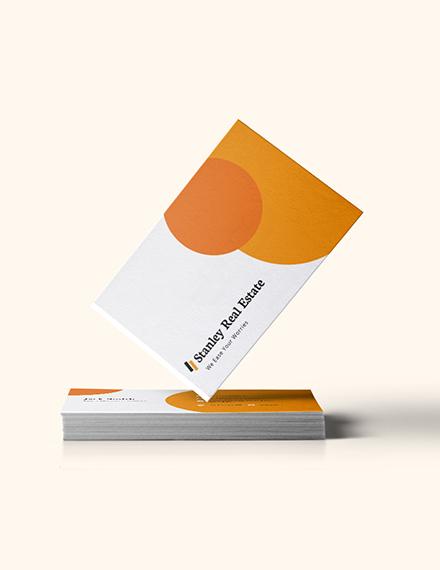 Modern Real Estate Business Card Download