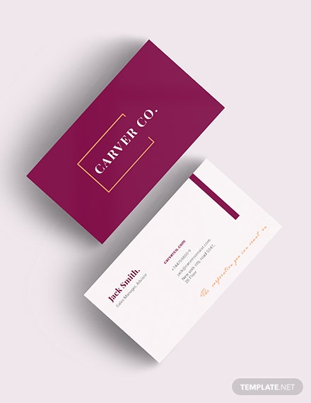 Property Management Business Card Download
