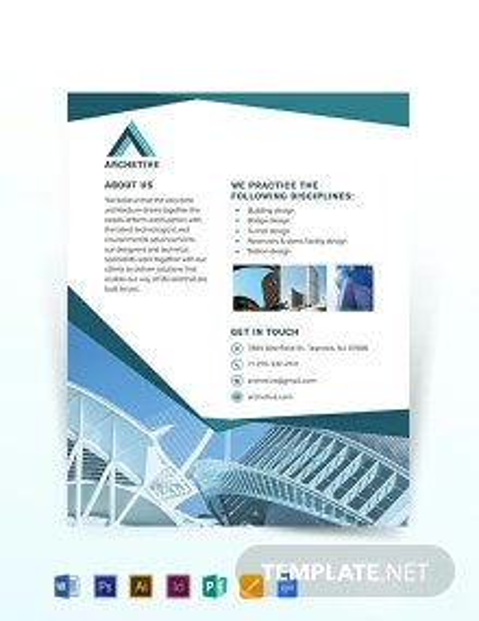 Architectural Design Flyer Template