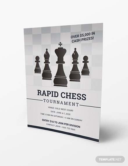 Chess Tournament Flyer Download