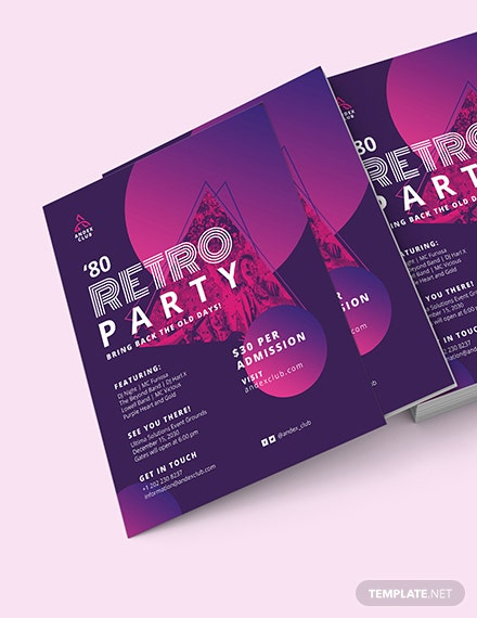 s Party Flyer Download