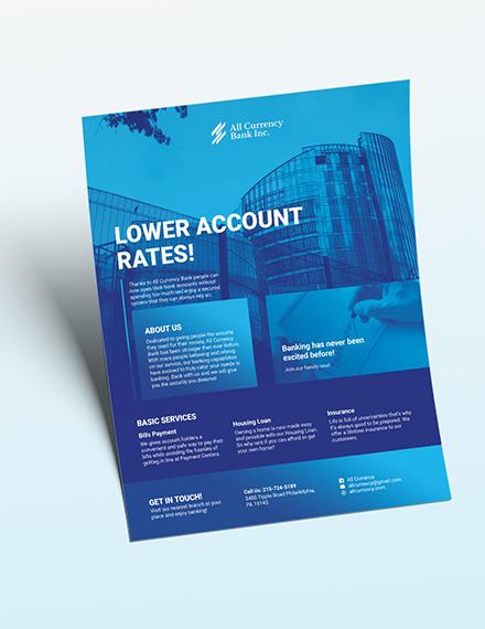 Bank Flyer Download