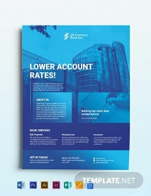 Bank Flyer Template