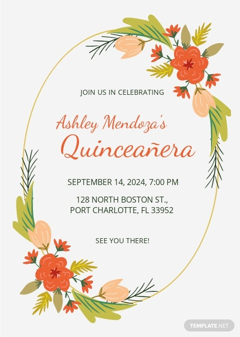 Quinceanera Party Invitation Template.jpe
