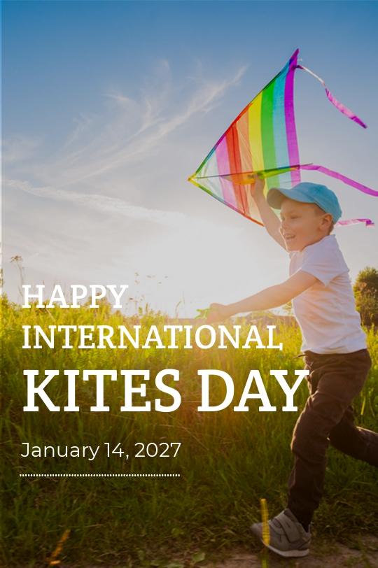 Free International Kites Day Tumblr Post Template