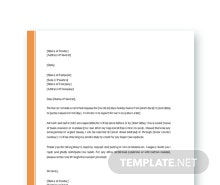 Free simple request letter template in microsoft word apple pages free holiday request letter template altavistaventures Image collections