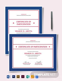 Sports Nutrition Certificate Template