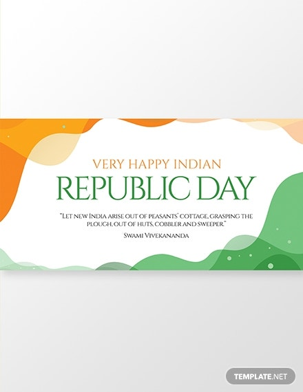 Free Republic Day Facebook Post Template Template Net