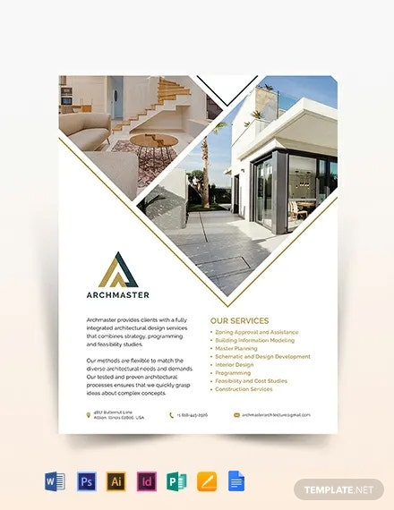 Architect Flyer Template