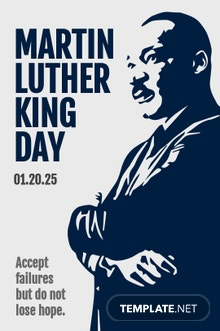 Martin Luther King Day Tumblr Post Template