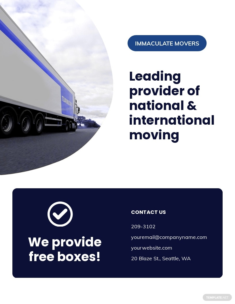 Moving Company Flyer Template.jpe