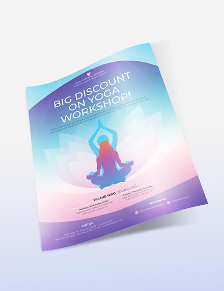 Sample Yoga Workshop Flyer