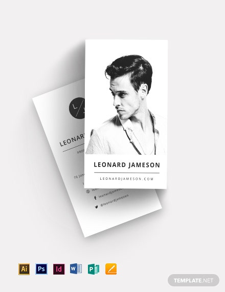 Actor Business Card Template