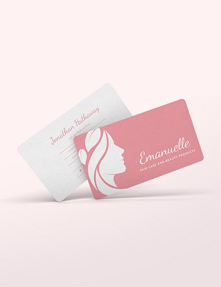 Beauty Business Card Template