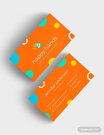 Colorful Business Card Download