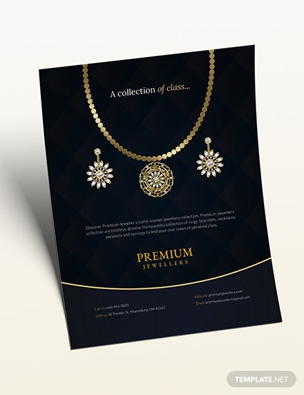 Jewelry Store Flyer Download