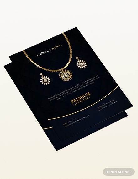 Sample Jewelry Store Flyer