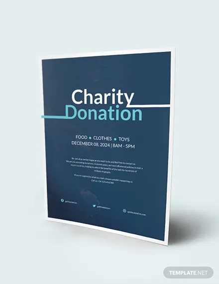 Charity Donation Flyer Download