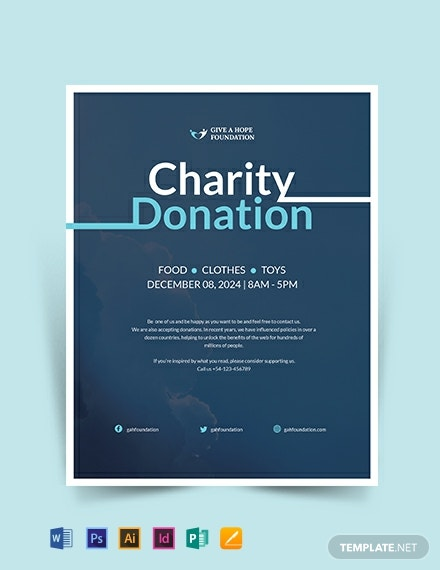charity donation flyer template 440x570 1
