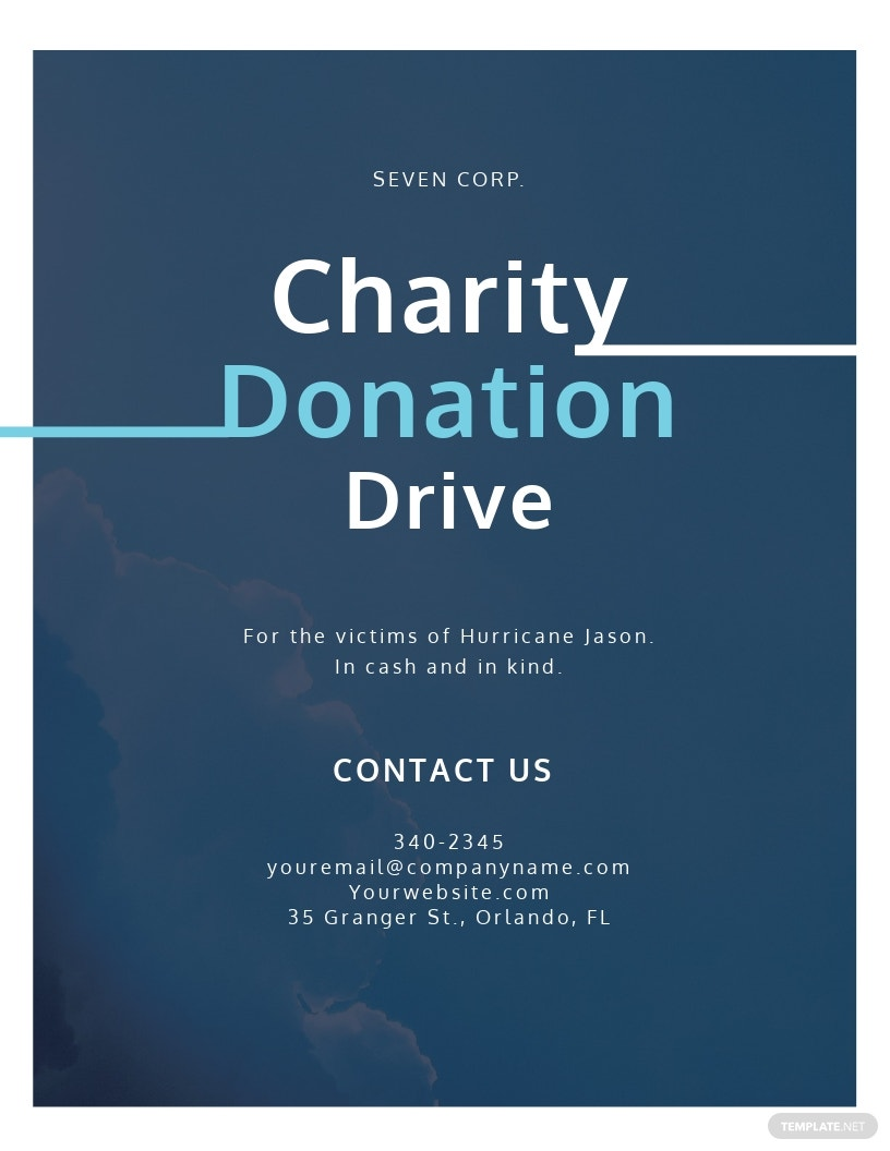 Charity Donation Flyer Template.jpe