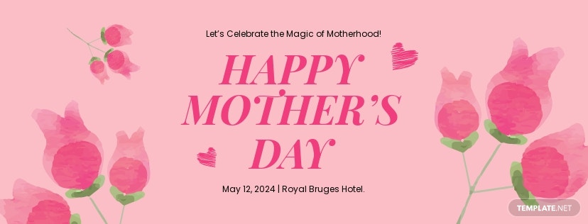 Mother's Day Facebook App Cover Template