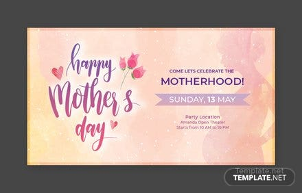 Free Mother's Day Facebook App Cover Template