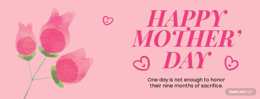 Free Mothers Day Facebook Cover Template