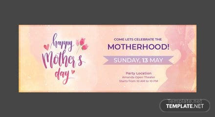 Free Mother's Day Facebook Event Cover Template