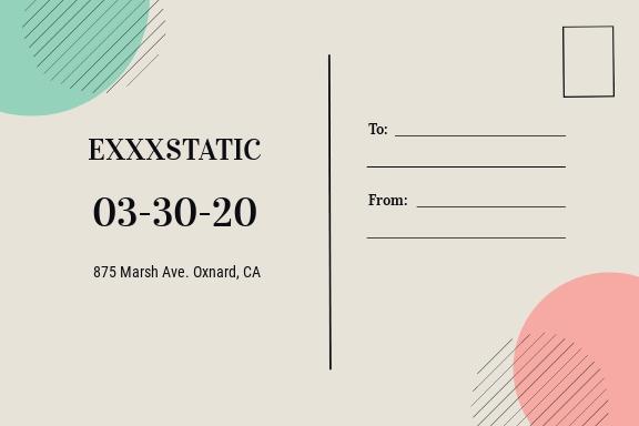 Music Event Postcard Template 1.jpe