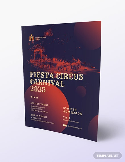 Circus Flyer Download