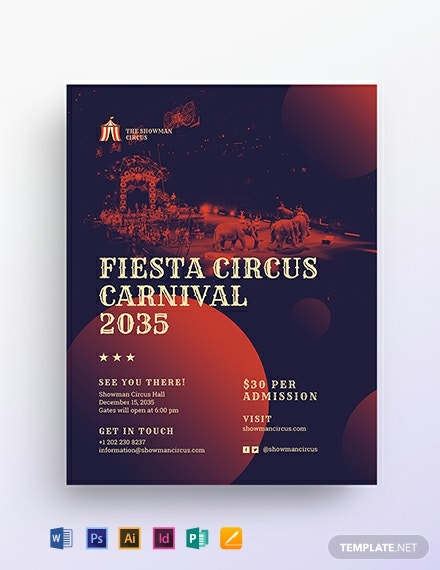 Circus Flyer Template