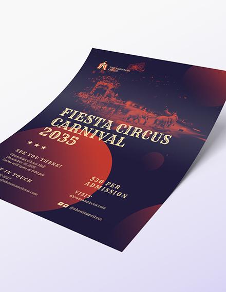 Sample Circus Flyer