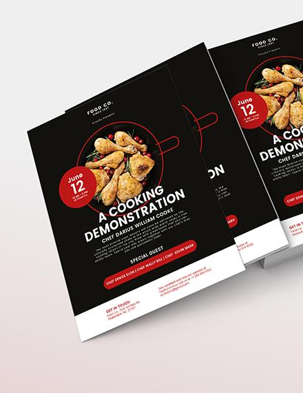 Cooking Flyer Download