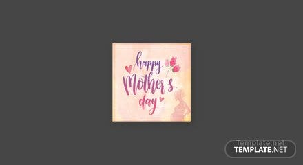 Free Mother's Day Facebook Profile Photo Template